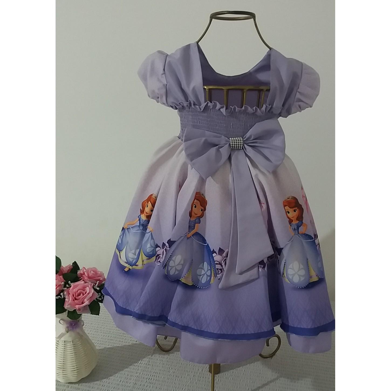 Vestido Princesa Sofia 1 Ao 3
